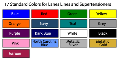 AntiWave Swim Lane Color Options