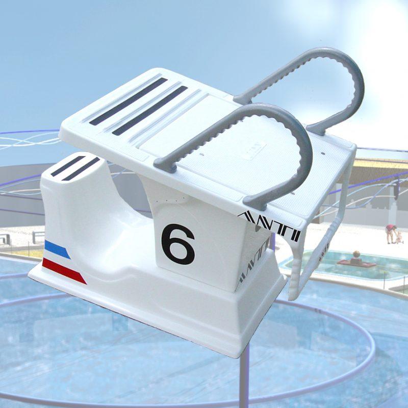 Super 700 Swimmer Starting Block