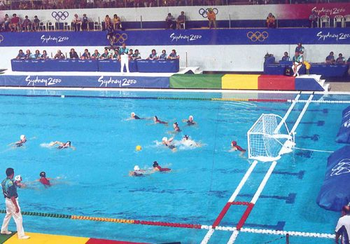 Water Polo Goals, Lanes, Balls